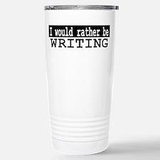 Rather Write Travel Mug