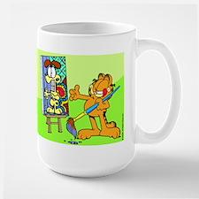 Garfield Art Mug