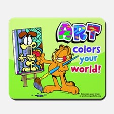 Garfield Art Mousepad