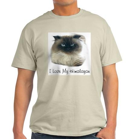 I Love My Himalayan Ash Grey T-Shirt