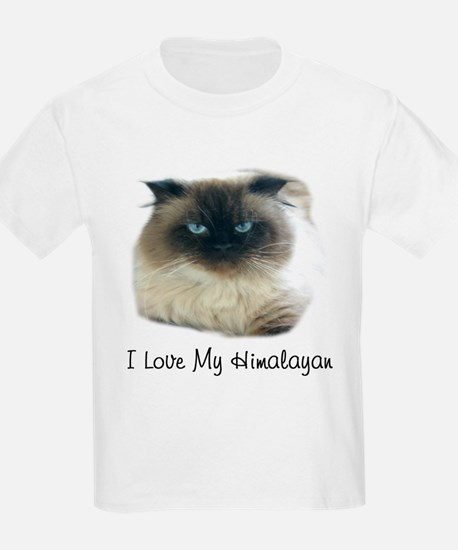 I Love My Himalayan Kids T-Shirt