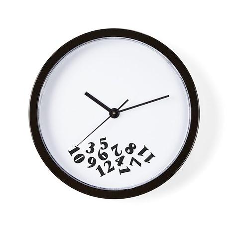 39 Fallen Numbers 39 Wall Clock By Applepip