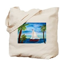 Sailboats Tote Bag