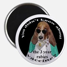 Pet Advocates 3 Year Rabies VaccineMagnet