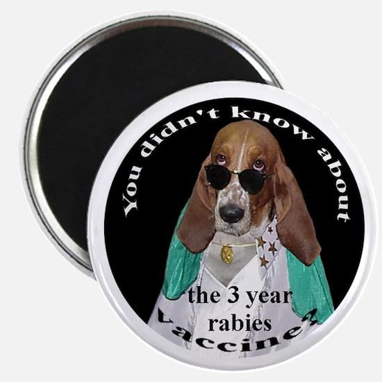 Pet Advocates 3 Year Rabies VaccineMagnet