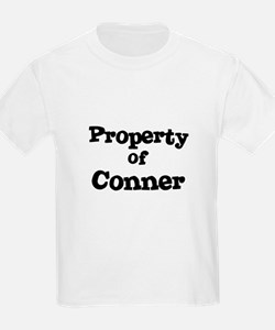 Property of Conner Kids T-Shirt