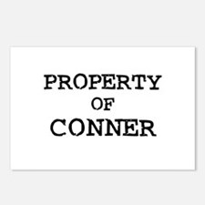 Property of Conner Postcards (Package of 8)