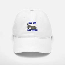 Half Man Half Bongo Baseball Baseball Cap