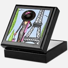 Eifel Tower Fashion Keepsake Box