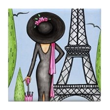 Eifel Tower Fashion Tile Coaster