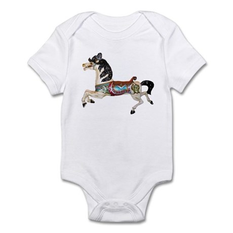 CAROSEL HORSE Infant Bodysuit
