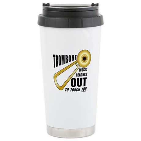 Trombone Touch Stainless Steel Travel Mug