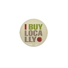 I Buy Locally Mini Button (10 pack)