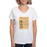 Bill Doolin Dead Women's V-Neck T-Shirt