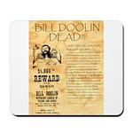 Bill Doolin Dead Mousepad