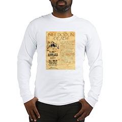 Bill Doolin Dead Long Sleeve T-Shirt