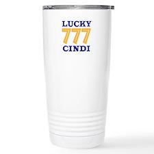 Lucky Cindi Travel Mug