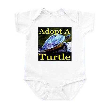 Adopt A Turtle Infant Bodysuit