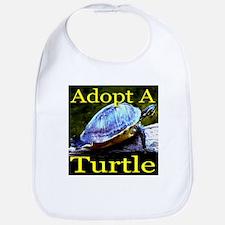 Adopt A Turtle Bib