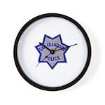 SFPD Star Wall Clock