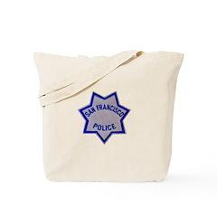 SFPD Star Tote Bag
