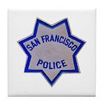 SFPD Star Tile Coaster