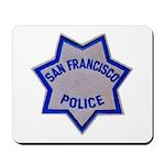 SFPD Star Mousepad