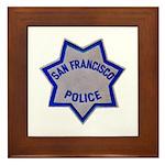 SFPD Star Framed Tile