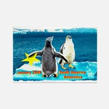 Star Antarctic Jan '09 Rectangle Magnet