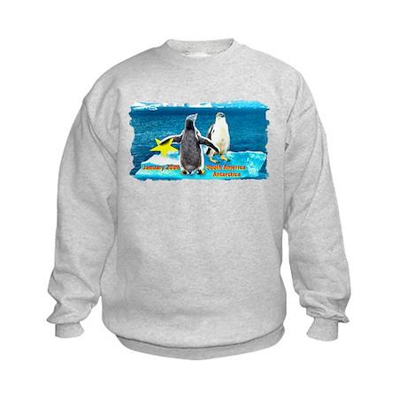 Star Antarctic Jan '09 Kids Sweatshirt