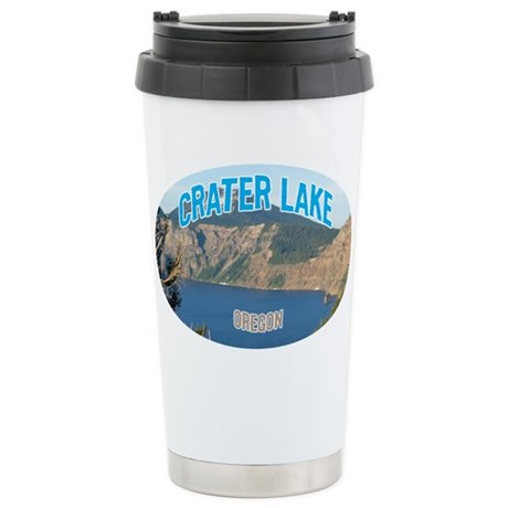 Crater Lake National Park Stainless Steel Travel M