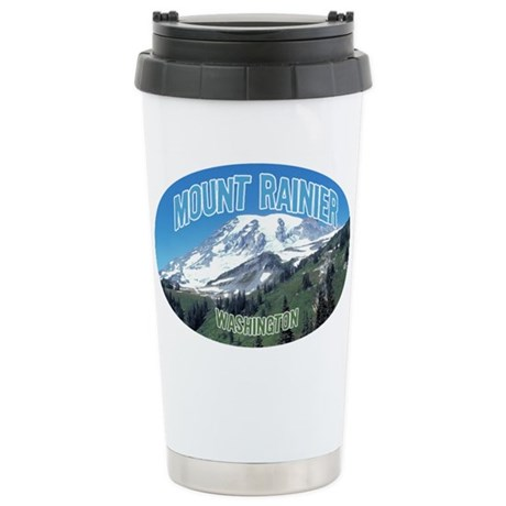 Mount Rainier National Park Stainless Steel Travel