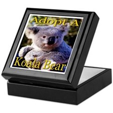 Adopt A Koala Bear Keepsake Box
