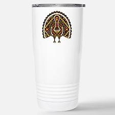 Fall Turkey Travel Mug