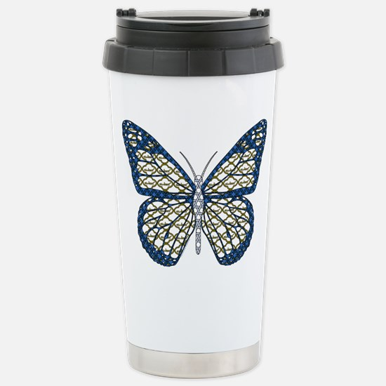 Jewish Monarch Stainless Steel Travel Mug