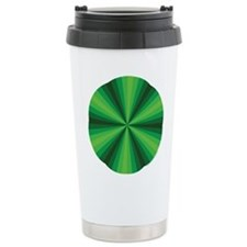 Green Illusion Travel Mug