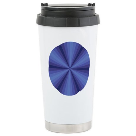 Blue Illusion Stainless Steel Travel Mug