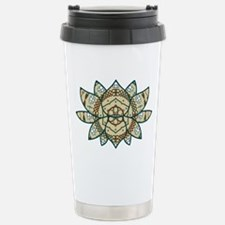 The Lotus Stainless Steel Travel Mug
