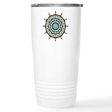 Mehndi Fantasy Copper Travel Mug