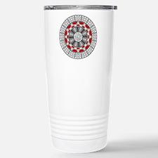 Aztec Meets Alien Stainless Steel Travel Mug