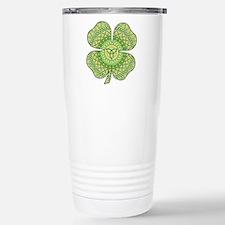 Celtic Shamrock Travel Mug