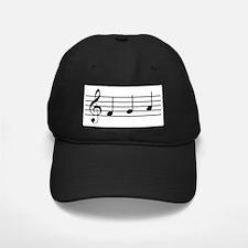 Musical Notes Baseball Hat