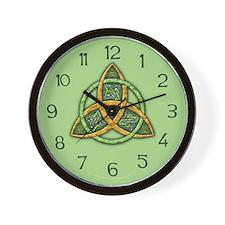 Celtic Trinity Knot Wall Clock