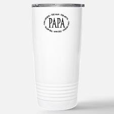 Papa The Legend Travel Mug