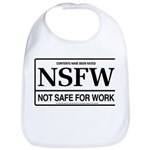 NSFW - Not Safe For Work Bib