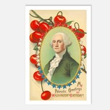 Washington's Birthday Postcards (Package of 8)