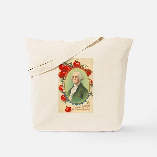 Washington's Birthday Tote Bag