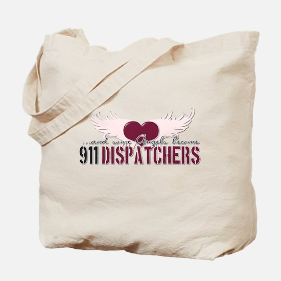 ...and some angels become 911 Tote Bag