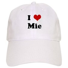 I Love Mie Baseball Cap