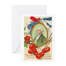 Washington First Greeting Card